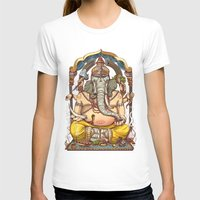 ganesha T-shirts featuring Ganesha by Pirates of Brooklyn