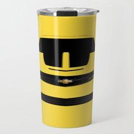 yellow car Travel Mug