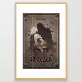 Horror Classics - Dracula Framed Art Print