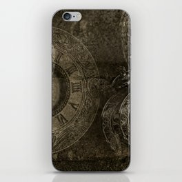 Too Much Time iPhone Skin