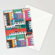 Synth City Stationery Cards