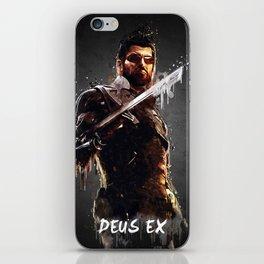 Acrylic Deus Ex iPhone Skin