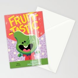 Rosey Posey Pear Stationery Cards