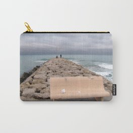 the storm moves away (Sitges) Carry-All Pouch