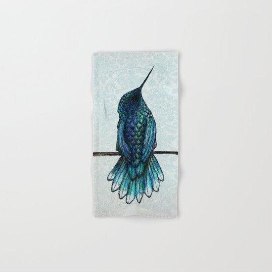 Hummingbird Hand & Bath Towel
