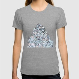Mountain of houses T-shirt