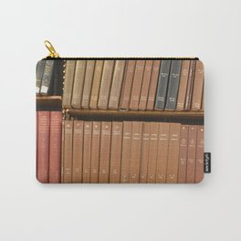 Bookshelves Carry-All Pouch