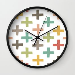 CRISSCROSSED Wall Clock