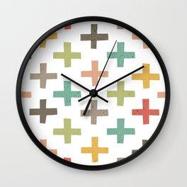 CRISSCROSSED Wall Clock