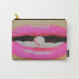 Upgrade Candy Cane Lips Carry-All Pouch