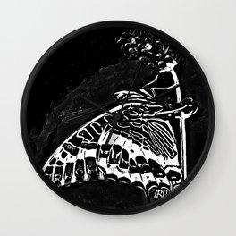 Insect Models: Beautiful Butterflies 02-01 Wall Clock