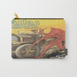 Vintage poster - Atlas Tyres Carry-All Pouch