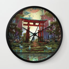 TORII - 鳥居 Wall Clock