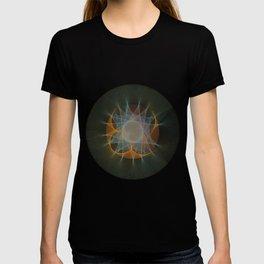 Orbital Mandala #3 Astronomy Print Science Art T-shirt