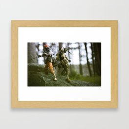 Cornelius & KDA • The Tomorrow Kings Framed Art Print