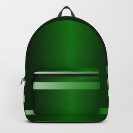 stripe green background with bright Backpack