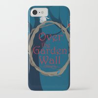 over the garden wall iPhone & iPod Cases featuring Over The Garden Wall by Tourmaline Design