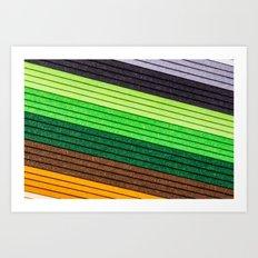 Paper Texture Art Print