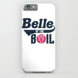 Crawfish Belle Of The Boil Women's Cajun Southern Seafood iPhone Case