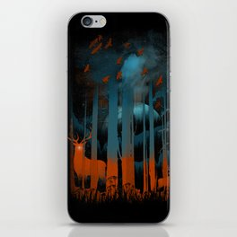 NIGHT NEGATIVITY iPhone Skin