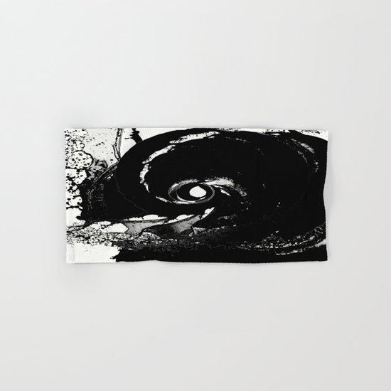 Whirlpool Of Black Hand & Bath Towel