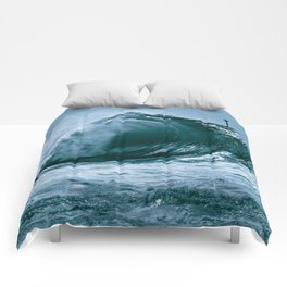 The Wedge Blue Barrel  Comforters