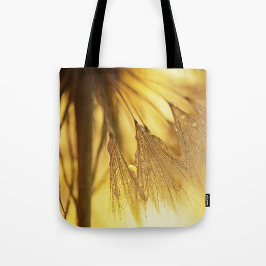 Dandelion Light Tote Bag