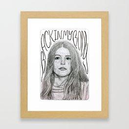 Maggie Rogers Framed Art Print