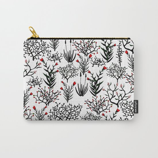 Black Nature Carry-All Pouch