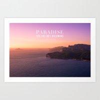 PARADISE Art Print