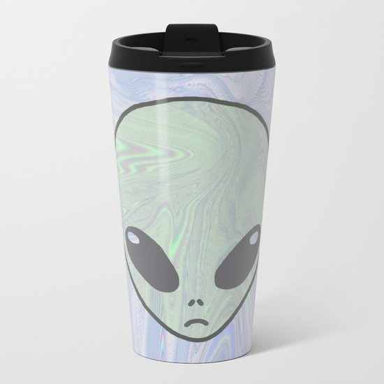 Alien Pastel Metal Travel Mug