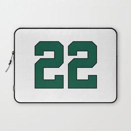 Green 22 Laptop Sleeve