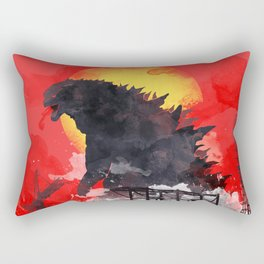 godzilla 5 Rectangular Pillow