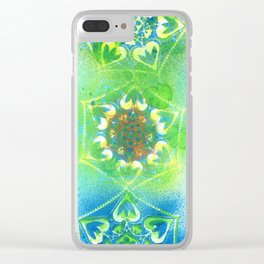 Chakra 5 Clear iPhone Case