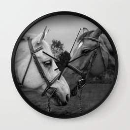 Horses of Instagram II Wall Clock