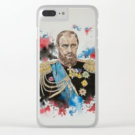 Vladimir Putin Clear iPhone Case
