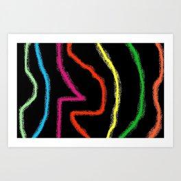 2A4 Art Print