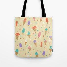 Ice Cream Treat Pattern Tote Bag