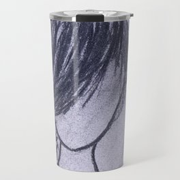 Girl with Braid Travel Mug