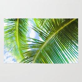 Aloha Lāhainā Palms Maui Hawaii Rug