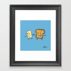 Kaya Toast Framed Art Print