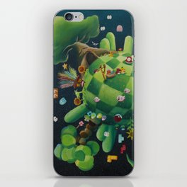 The consoling planet iPhone Skin
