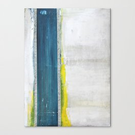Blue Ledger Canvas Print