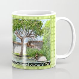 City Landscapes - Laghetto di Villa Ada - Rome - Italy Coffee Mug