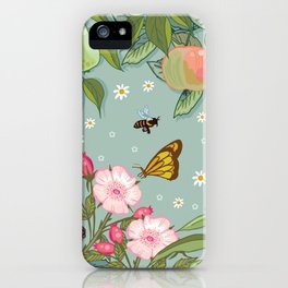 Orchard Fruits iPhone Case