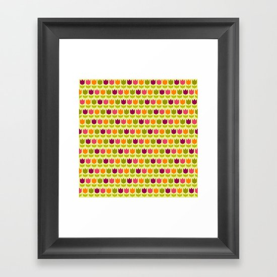 Flower Patch Framed Art Print