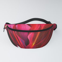 Red Ti Leaf Fanny Pack
