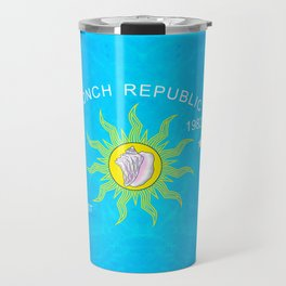 The Conch Republic Flag Travel Mug