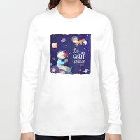 le petit prince Long Sleeve T-shirts featuring Le petit prince by LadyAlouette
