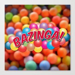 Bazinga! - Ball Pit Canvas Print